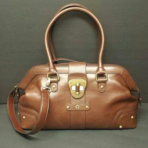 ETIENNE AIGNER Leather Satchel
